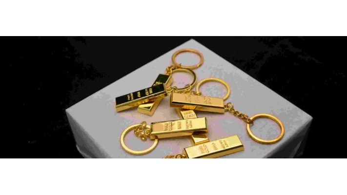 Porte-clés lingot