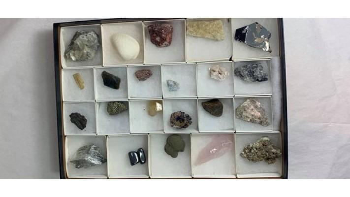 Collection de minéraux internationale